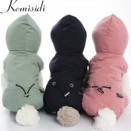 Ubrania dla psów zimowe ciepłe zwierzęta kurtka dla psa płaszcz Puppy odzież dla psów chihuahua bluzy dla małych średnich psów P
