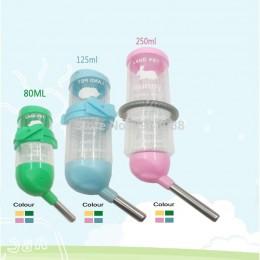 Mały chomik automat do wody szczelna butelka wody królik automatyczny czajnik urządzenie urządzenie podawanie wody świnki morski