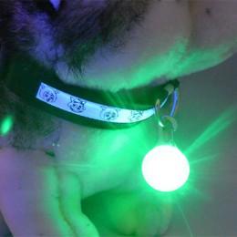 1 sztuk LED latarka obroża dla psa lub kota świecący wisiorek bezpieczeństwo w nocy smycz dla zwierzęcia domowego naszyjnik Lumi