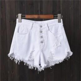 DJGRSTER seksowne spodenki dżinsowe damskie letnie spodenki booty Mini Denim krótkie Feminino Casual Jean czarne krótkie spodenk