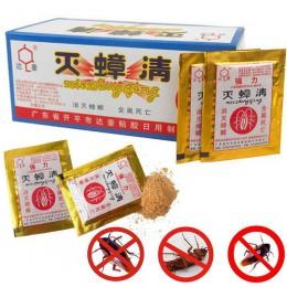 10 sztuk/partia skuteczne Killer karaluch Powder Bait specjalne owadobójcze Bug Beetle Cucaracha medycyna Insect odrzucić zwalcz