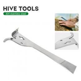 Wielofunkcyjne narzędzia pszczelarskie ze stali nierdzewnej typu kciuk miód pszczeli nóż pszczoła ula skrobak pszczelarstwo pszc