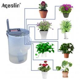 Automatyczne mikro domu nawadniania kropelkowego podlewanie zestawy System zraszacz z inteligentny kontroler do ogrodu, Bonsai u