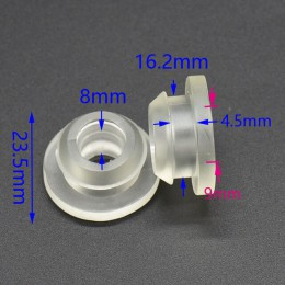 Kran ogrodowy pierścień uszczelniający gumowy pierścień taśma kroplująca tap adapter nawadniania kropelkowego adapter zaworu 8 s