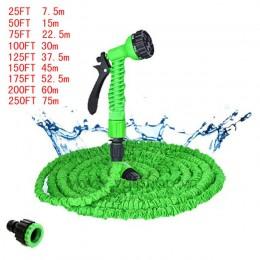 Wąż ogrodowy rozbudowy magia elastyczny wąż do wody ue wąż plastikowa wąż ogrodowy z pistoletem natryskowym do podlewania myjnia