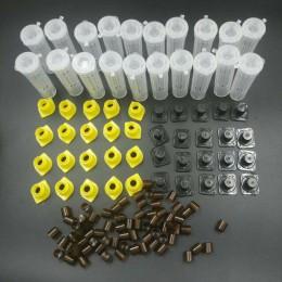 1 zestaw pszczoły narzędzia klatki król królowa chów Cupkit System pszczoła pszczelarstwo Catcher Box komórki kubki klatka Nicot