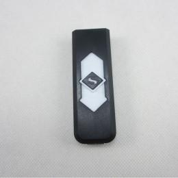 1 PC wiatroodporny fajny prezent bezdymny bezpłomieniowy USB wiatroodporny zapalniczka do ładowania elektroniczne zapalniczki ak