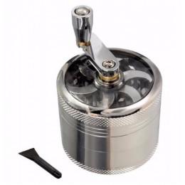 4-warstwa aluminium ziołowe zioło młynek do tytoniu młynki do palenia młynek do zioła młynek do ziół akcesoria do papierosów