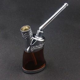 Nowa przenośna szisza Shisha fajki do palenia tytoniu zdrowie rura metalowa filtr kieszonkowy rozmiar wysokiej jakości akcesoria