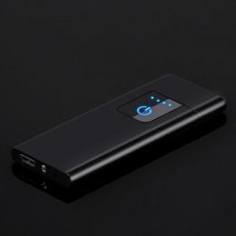Nowa ultra-cienka ładowarka USB 0.44mm metalowa zapalniczka gorąca sprzedaż prezent