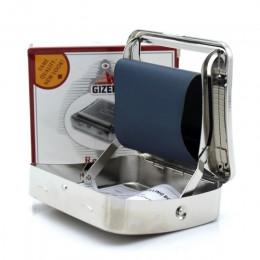 Maszyna do toczenia metalu tytoń Roller maszynka do papierosów do papieru wspólne rolki rozmiar 70mm Blunt Cigar Rolling urządze