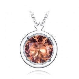 Kuololit zultanit kamień wisiorki dla kobiet biżuteria boże narodzenie oryginalna 925 srebro zmienia kolor Diaspore bez łańcucha