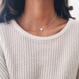 Czeski księżyc gwiazda kryształowe serce Choker naszyjnik dla kobiet naszyjnik wisiorek na szyi naszyjnik Choker biżuteria preze