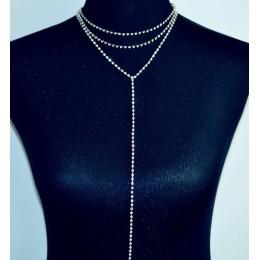 Nowa moda biżuteria kryształowy kamień wiele warstw choker naszyjnik ładne party prezent dla kobiet dziewczyna N2063