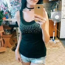 Dziewczyna damska Rhinestone cekinowa koronka bez rękawów Sling kamizelka kamizelka szczupła kamizelka bez rękawów dorywczo kobi
