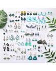 2020 nowy koreański Mori proste Retro chłodne pozbawiające tchu kolczyki geometryczny kwiat kaktus akrylowy wisiorek kolczyki da
