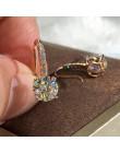 Proste olśniewające CZ kryształowe koło okrągły wkręt kolczyki dla kobiet Oorbellen Brincos Pendientes 925 srebrny kolor jewwlry