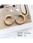 2020 nowa dwuwarstwowa metalowa koło z perłami kryształowa kostka sześcienna kolczyki małe kółka dla kobiet dziewczyna wesele pr