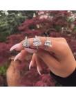 40 style pierścień przyrzeczenia prawdziwe 925 srebro AAAAA Cz kamień komunikat Party obrączka pierścionki dla kobiet biżuteria