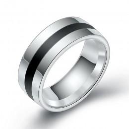 ZORCVENS 316L wysokiej jakości mężczyźni epoksydowa tytanu ze stali nierdzewnej pierścień kochanka pierścionki dla par dla kobie