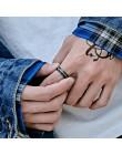 Żołnierz ze stali moda prosty pierścień dla kobiet i mężczyzn popularna gorąca sprzedaż biżuteria w stylu viking