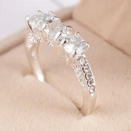 2020 nowy kryształowy pierścień kobiet Anelli Bijoux Anillos obrączki ślubne dla kobiet biżuteria Anel