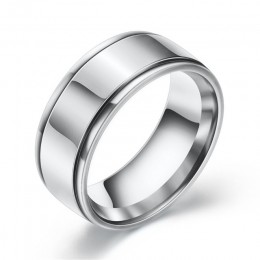 Moduł nowy marka proste czarny/srebrny/złoty kolor obrączki ze stali nierdzewnej dla mężczyzn kobiety moda biżuteria hurtowych