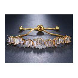 EMMAYA moda kobiety Rhinestone cyrkonia bransoletka moda regulowane bransoletki biżuteria ładna bransoletka prezent