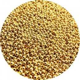 500/200/50 sztuk 2/4/6mm złoty/srebrny/odcień brązu metalowe koraliki gładka kulkowe koraliki dystansowe do tworzenia biżuterii