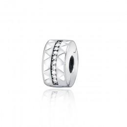 Oryginalne 925 srebro Charms Bloom, miłość serce klipy, fit oryginalny bransoletka pandora kobiety DIY biżuteria