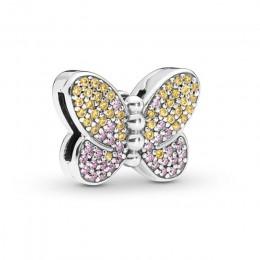 2019 925 srebro koraliki Love Heart Rosegold zawieszki charms Fit oryginalny Pandora Reflexions bransoletka DIY piękna biżuteria