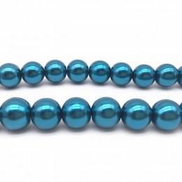 Hurtownie 4/6/8/10mm okrągła kula luźna szklana perła Spacer paciorki DIY tworzenia biżuterii