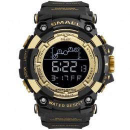 SMAEL zegarek męski wojskowy wodoodporny zegarek sportowy na rękę zegarki cyfrowe dla mężczyzn 1802 zegarki wojskowe męskie Relo