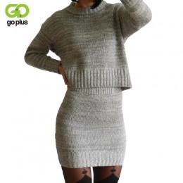 Zima dzianiny garnitur damski spódnica dwuczęściowa zestaw kobiet ubrania ropa mujer conjunto feminino conjuntos de mujer veteme