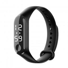 Luksusowy cyfrowy zegarek damski męski młodzieżowy unisex uniwersalny cienki delikatny modny