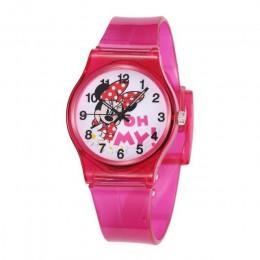 Zegarek na rękę zegarek dla dzieci zegarki dla dzieci silikonowy zegarek dla chłopców zegarek dziewczęcy śliczny zegar na rękę R