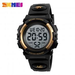Marka skmei zegarek dla dzieci moda zegarki dla dzieci chłopcy Alarm LED cyfrowy zegarek dla dzieci dzieci Student zegarek wodoo