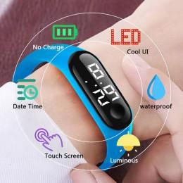 CAINUOS zegarki dla dzieci zegarek dla dzieci bransoletka dla dziewczynek chłopcy Sport cyfrowy relogio hombre LED cyfrowy zegar