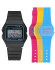 Relogio cyfrowy zegarki dla dzieci chłopcy moda Sport zegarek LED cyfrowy analogowy Smart Sport zegarek wodoodporny dziewczyny z