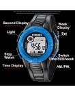LED dzieci dzieci zegarki cyfrowe kolorowe Dial Luminous tydzień alarmu zegar z wyświetlaczem dla chłopców dziewcząt prezenty sp