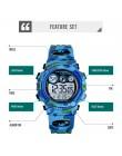SKMEI dzieci LED cyfrowy zegarek elektroniczny stoper zegar 2 czas dzieci Sport zegarki 50M zegarek wodoodporny dla chłopców dzi