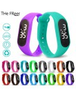 Nowe zegarki dla dzieci dzieci LED sportowy cyfrowy zegarek dla chłopców dziewcząt mężczyzna kobiet elektroniczny zegarek na pre