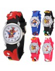 Zegarek dla dzieci z postaciami z kreskówek dla dzieci prezent dla dzieci Superman Spiderman różowa kociak piłka nożna zegarek n