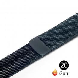 Milanese Loop na pasek do Apple Watch pasek 42mm 38mm dla iwatch 5/4/3/2/1 44mm 40mm ogniwo ze stali nierdzewnej bransoletka wri