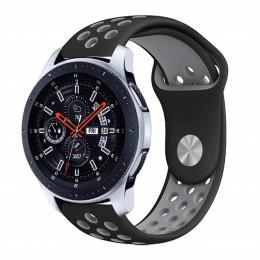 Do Samsung Galaxy Watch 46mm zespoły 22mm wymiana silikonowy pasek wirst dla biegów S3 Frontier klasyczny zespół 20mm S2 bransol