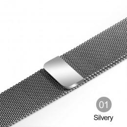 Milanese Loop bransoletka ze stali nierdzewnej pasek na Apple Watch seria 12 3 42mm 38mm bransoletka pasek na iwatch seria 4 5 4