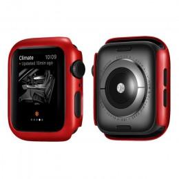 Matowa obudowa do Apple Watch Series 5 4 38MM 44mm 40mm obudowa ochronna obudowa idealna obudowa zderzaka do iWatch 5 4 okładka