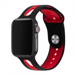 Pasek do zegarka pasek do Apple Watch 42mm 38mm 44mm 40mm silikonowy pasek Iwatch opaski do zegarka Apple Watch Series 5/4/3/2/1