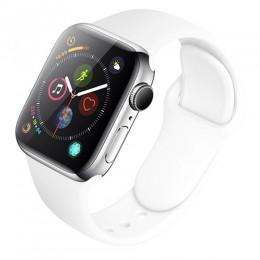 Silikonowy zegarek pasek dla Apple zegarek 5 4 44mm 40mm pasek do iwatch Apple obserwować serii 3 2 1 38mm 42mm opaski