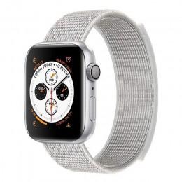 Opaska na zegarek z jabłkiem 5 4 40MM 44MM 3/2 38MM 42MM nylonowa miękka oddychająca sportowa pętla do akcesoriów serii iwatch